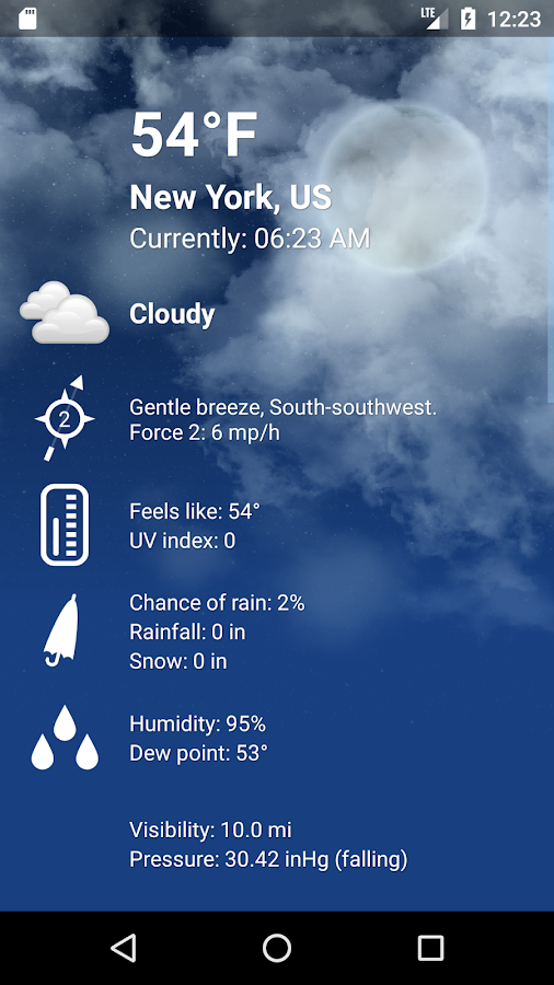 Weather XL PRO Screenshot 2
