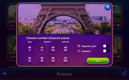 Jigsaw puzzles: Countries 🌎