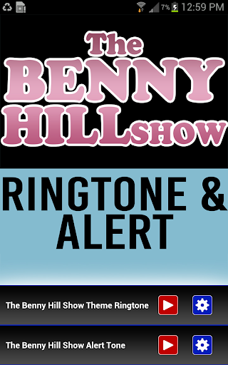The Benny Hill Show Theme - screenshot