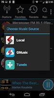 Screenshot of AALinQ Car Music Player