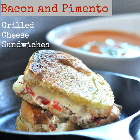 Bacon and Pimento Grilled Cheese Sandwiches