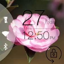 Camellias Lock Screen