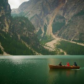 Still... by Szalai Katalin - Landscapes Waterscapes ( water, lagodibraies, green, pragsersee, silence, lake, nikon, szalaikatee, italy )