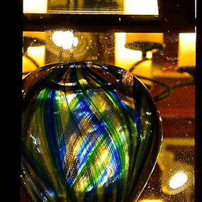 Vase by Carl Testo - Artistic Objects Glass ( vase, busch, color, shop window, glass, design )