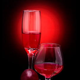 Red, Red, Red by Rakesh Syal - Artistic Objects Still Life