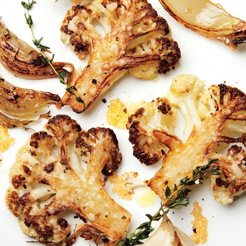 Parmesan-Roasted Cauliflower