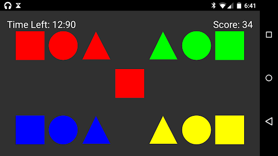 Shape Tap - screenshot
