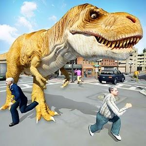 Dinosaur Simulation 2017- Dino City Hunting For PC (Windows & MAC)