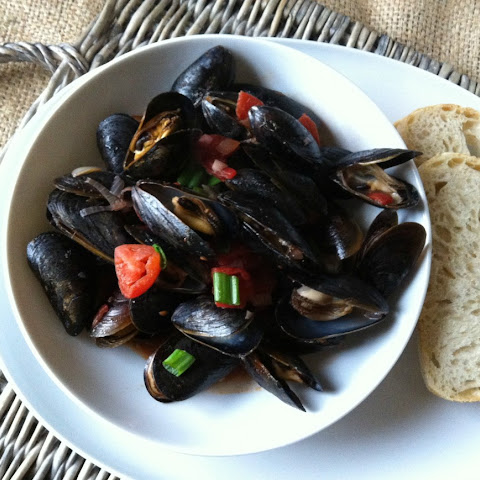 Mussels with Smoked Spanish Paprika
