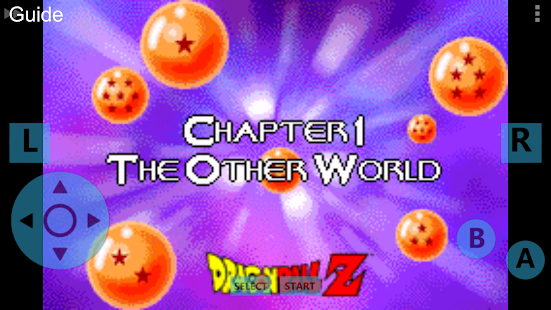 Guide For Dragonball Z
