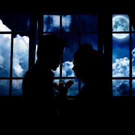 by Rizki II - Wedding Bride & Groom