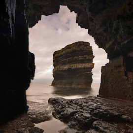 the cave by Pawel Zygmunt - Landscapes Caves & Formations ( sea, stack, cave )