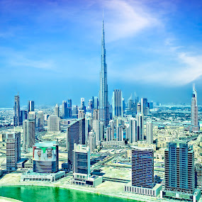Heart of Dubai by O J - Travel Locations Landmarks ( dubai, khalifa, business bay, uae, burj )
