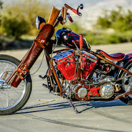 Resident Redneck by Brian Harmon - Transportation Motorcycles ( harley, harley davidson, motorcycle. chopper, bike )