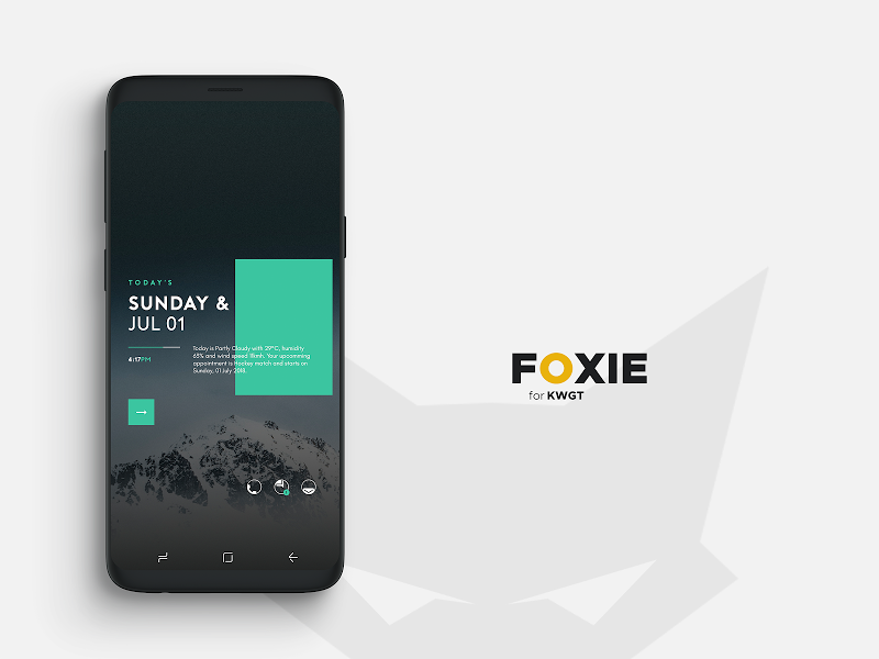 Foxie for KWGT Screenshot 1