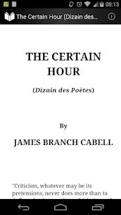 The Certain Hour - screenshot