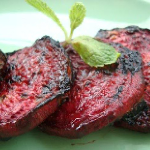 Balsamic Barbecued Beets