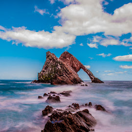 Bow Fiddle Rock by Steven McCarron - Landscapes Caves & Formations