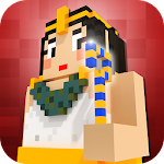 Egypt Craft: Pyramid Building & Exploration Games Icon