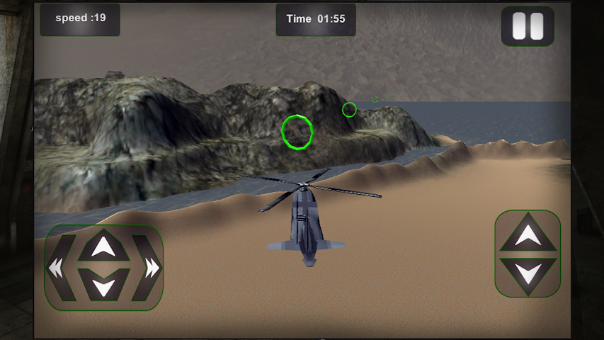 android Relief Cargo Helicopter Screenshot 3