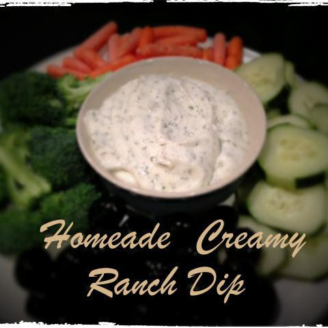 Delicious 5-Minute Ranch Dip/Dressing