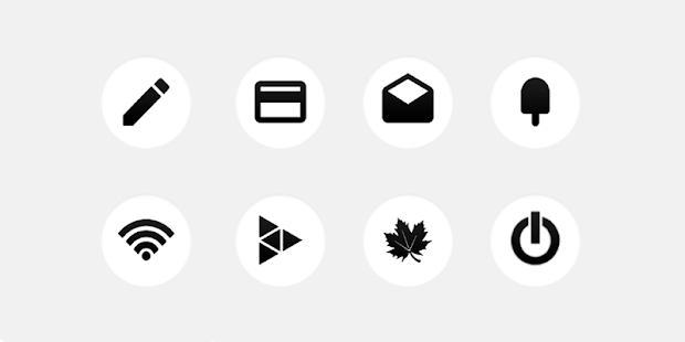 ET Apex/Nova/Adw Circle Icons- screenshot thumbnail