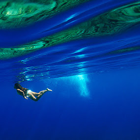 Turkish Waters by Rico Besserdich - Sports & Fitness Swimming ( water, aquatic, underwater, sea, ocean, bodrum, rico besserdich, underwaterphotograph, swimming, turkish )