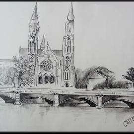 by Milan Kumar Das - Drawing All Drawing