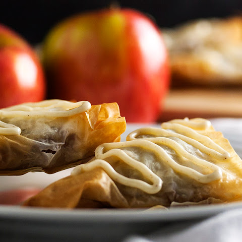 Spiced Honey Apple Turnovers