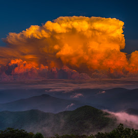 Thunderhead by Ron Weaver - Landscapes Sunsets & Sunrises ( blue ridge ga. trip )