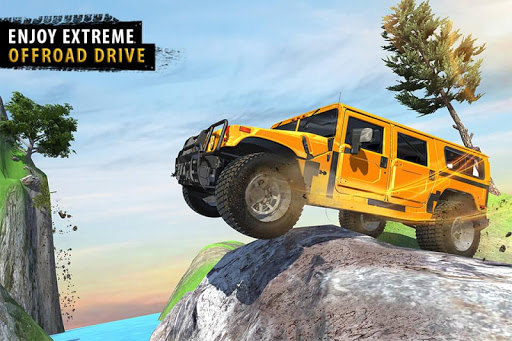 Offroad Jeep Driving Simulator - Jeep Simulator screenshot 6