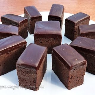 Chocolate Brownies (gluten-free, no added fat)
