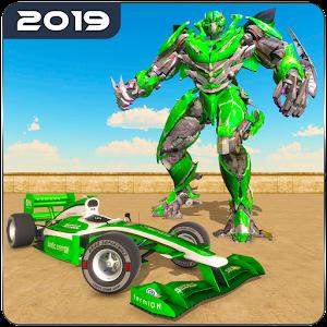 City Formula Car Robot Transform Robot Car Games For PC / Windows 7/8/10 / Mac – Free Download