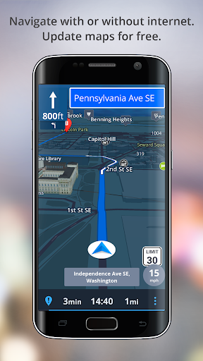 GPS Navigation - Drive with Voice, Maps & Traffic screenshot 2