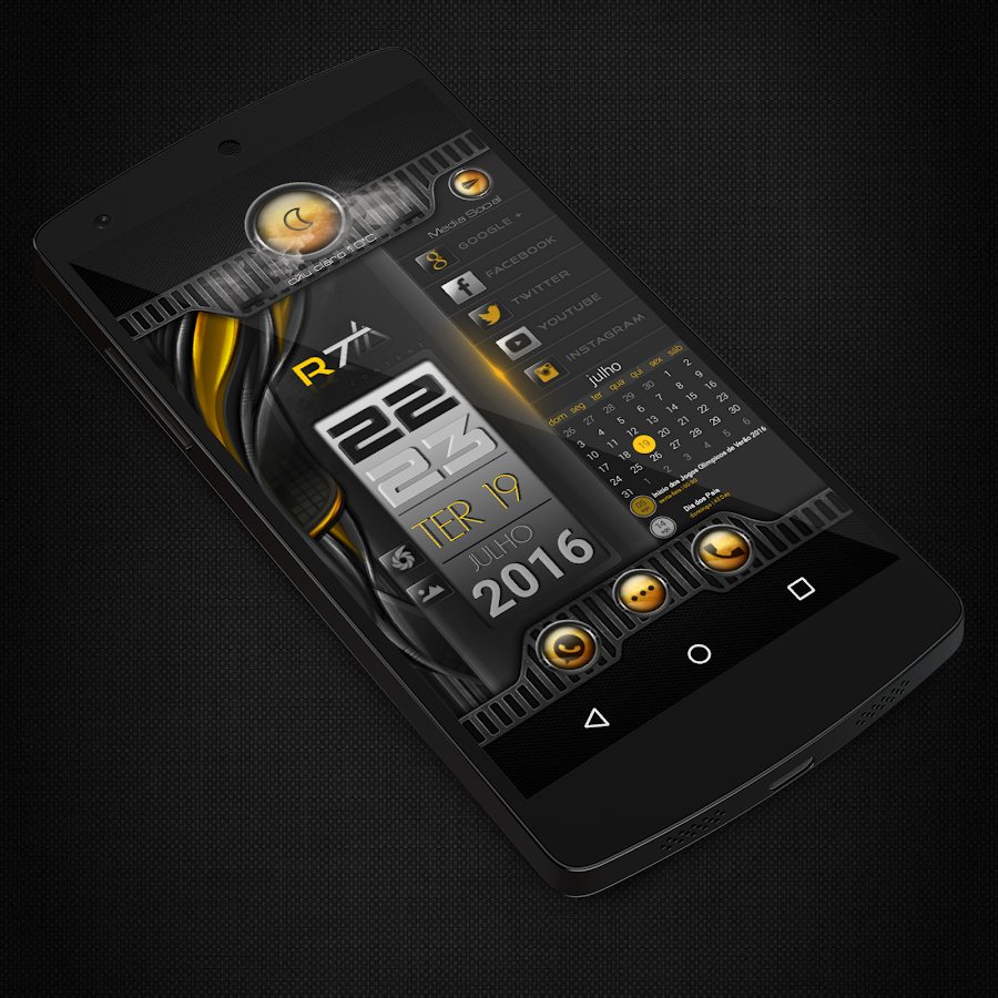 KLWP THEMES INFINITE Screenshot 2