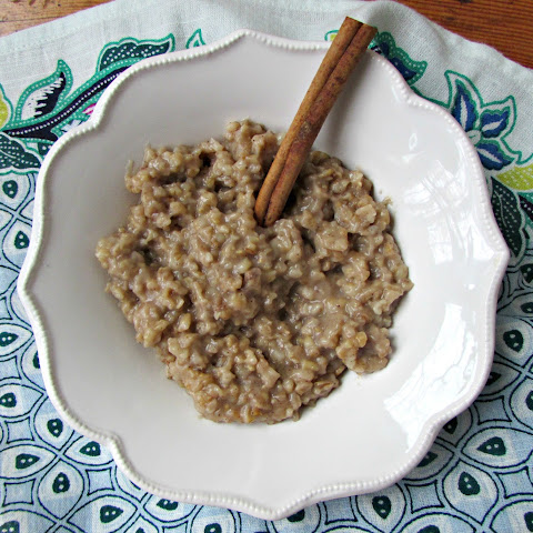 Chai Slow Cooker Steel Cut Oats