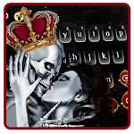 Queen Skull Keyboard Theme Icon