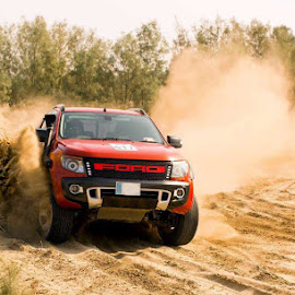 TDC 2 by Abdul Rehman - Sports & Fitness Motorsports ( pakistan, thrill, sand, thall, red, desert, ford )