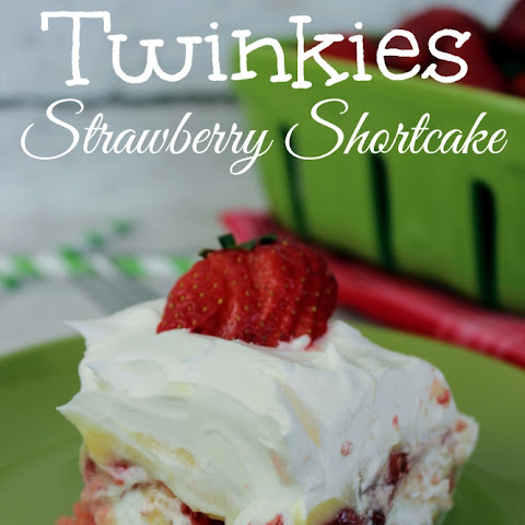 No Bake Twinkies Strawberry Shortcake (made with pudding)!