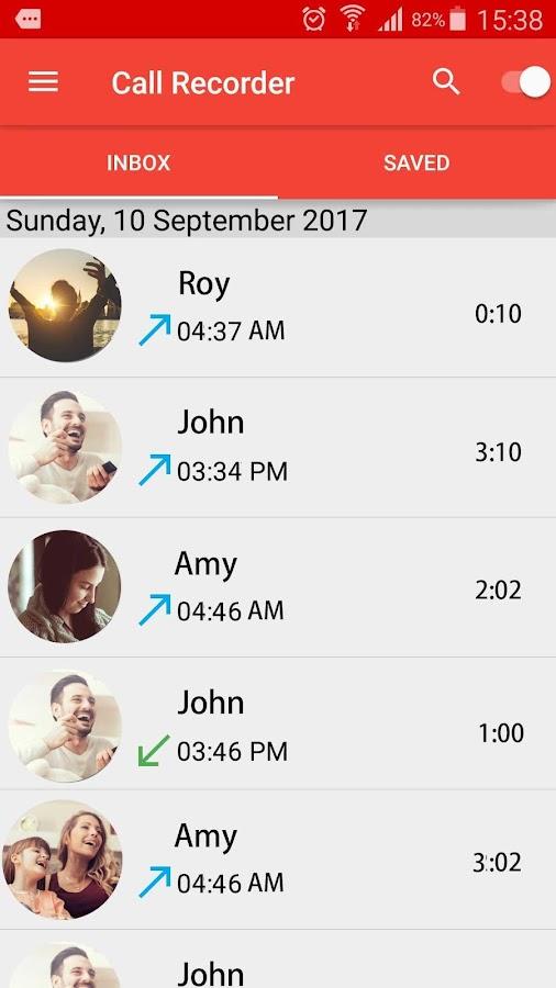 Automatischer Anrufrekorder android apps download