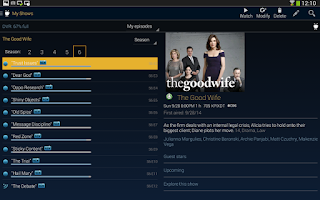 Screenshot of TiVo