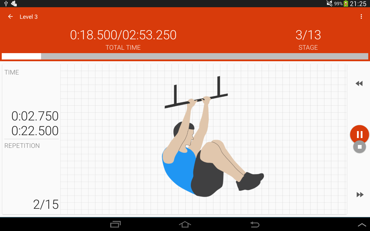 Abs workout II PRO Screenshot 3
