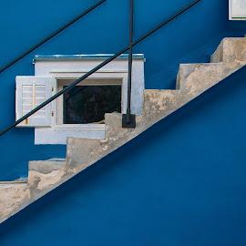 diagonala by Dušan Gajšek - Buildings & Architecture Architectural Detail ( _mesta, lošinj, arhitektura, za fotoklub )