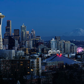 Seattle by Scott Wood - City,  Street & Park  Skylines ( sony, washington, seattle, sigma, photowalk, a6000, artseries )