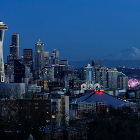 Seattle by Scott Wood - City,  Street & Park  Skylines ( sony, washington, seattle, sigma, photowalk, a6000, artseries )