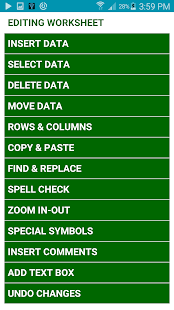 Learn MS Excel Complete Guide - screenshot