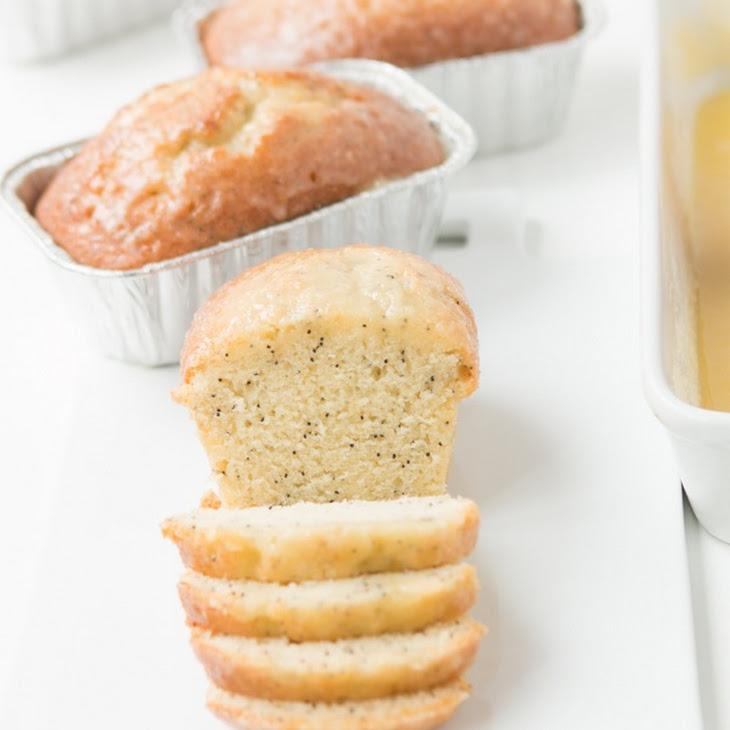 Glazed Poppy Seed Bread Recipe | Yummly