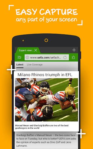 Screen Cut – Best Screenshot Capture & Crop app screenshot 1