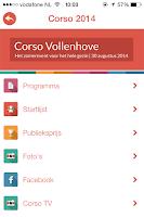 Screenshot of Vollenhove app