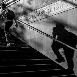 by Tracey Dolan - City,  Street & Park  Street Scenes